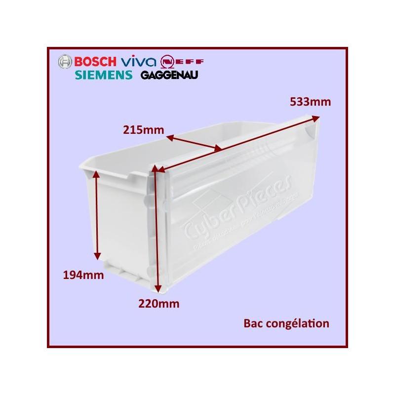 Petit bac produits congelés Bosch 00479329