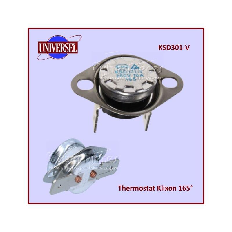 Thermostat Klixon NC 165° - KSD301-V