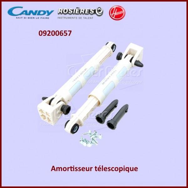 amortisseur t lescopique candy 09200657 pour amortisseurs et ressorts machine a laver lavage. Black Bedroom Furniture Sets. Home Design Ideas