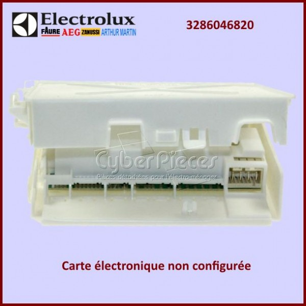 Module électronique EDW1X Electrolux 3286046820 à configurer par nos soins