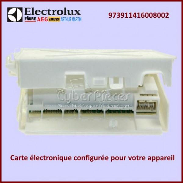 Module électronique configuré EDW1X Electrolux 973911416008002