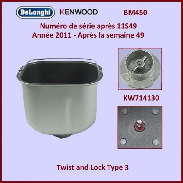 Cuve de machine à pain BM450 Kenwood KW714130