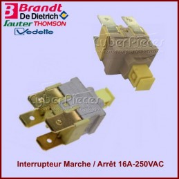 Interrupteur Marche / Arrêt 16A-250VAC CYB-350952