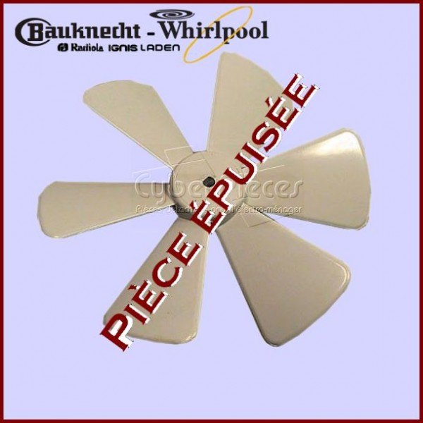 Hélice Whirlpool 481990200592***Pièce épuisée***
