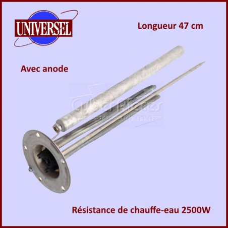 Resistance Chauffe Eau 2500w D120 + Anode