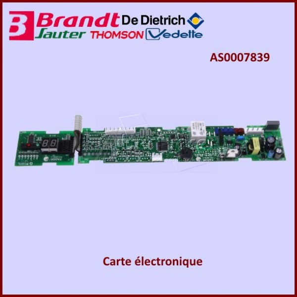 Carte électronique Brandt AS0007839
