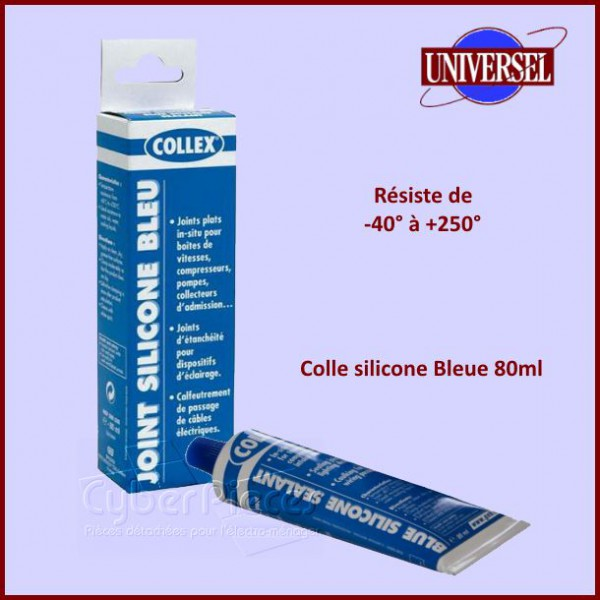 colle silicone bleue 80ml pour colles colliers composant produits fini pieces detachees. Black Bedroom Furniture Sets. Home Design Ideas