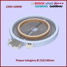 Foyer radiant 210mm double zone 2200+1000W Ego 1051213432 CYB-354103
