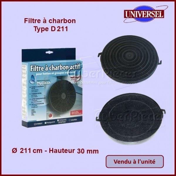 Filtre à charbon Type - D211 - CA211