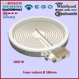 Foyer Radiant 180mm 200mm - 1800W EGO 1058113032 CYB-042758