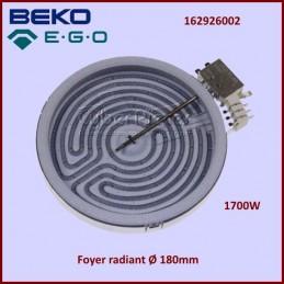 Foyer Radiant 180mm 1700W EGO 1088431040 CYB-042789