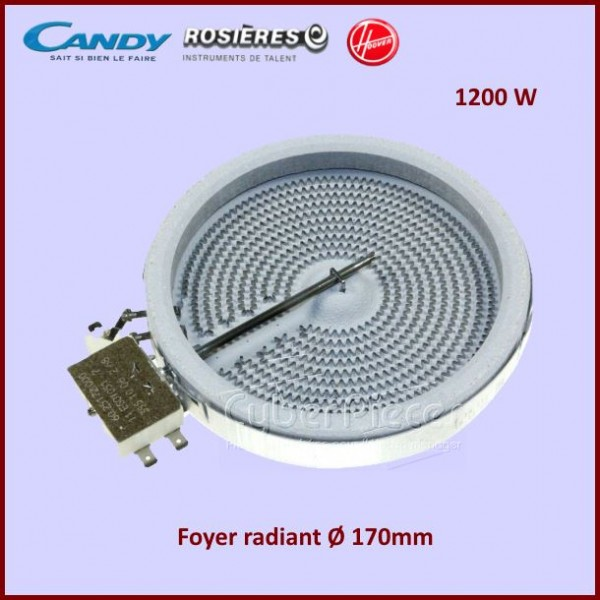 Foyer Radiant 170mm 1200W Candy 93679777