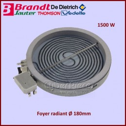 Foyer Radiant 180mm - 1500W...