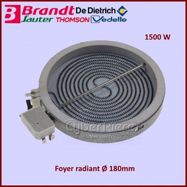 Foyer Radiant 180mm - 1500W Brandt C690035C7