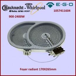 Foyer radiant 170X265mm 900-2400W Ego 1057411604 CYB-130042