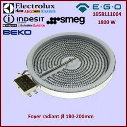 Foyer radiant 200mm - 1800w EGO 1058111004 CYB-042857