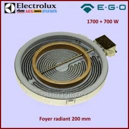 Foyer Radiant 200mm double zone 1700+700W Ego 1058211044 CYB-156530