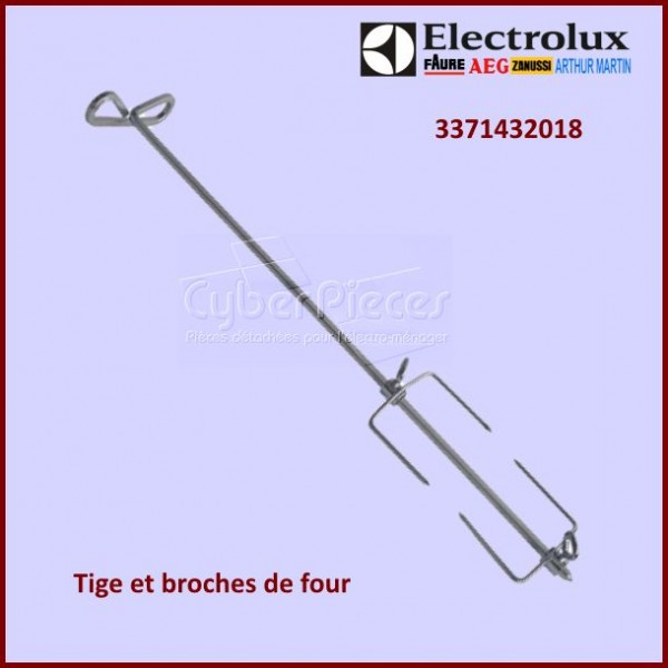 Tige avec broches Electrolux 3371432018