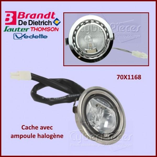 Cache avec ampoule halogène Brandt 70X1168