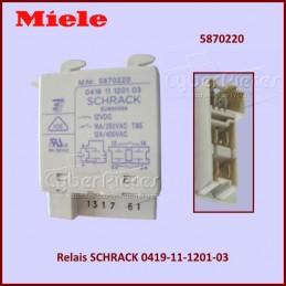 Relais SCHRACK 0419-11-1201-03 Miele 5870220 CYB-394079