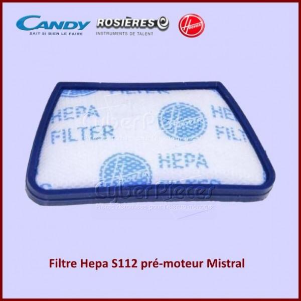 Filtre Hepa S112 pré-moteur Candy 35601237