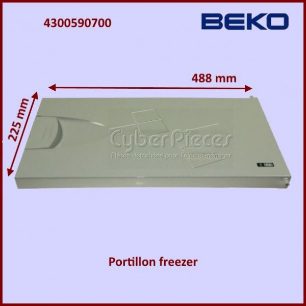 Portillon de Freezer Beko 4300590700