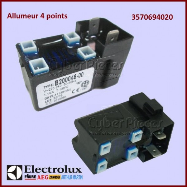 Allumeur 4 Points Electrolux 3570694020