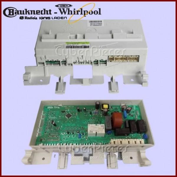 Platine de contrôle configurée Whirlpool 481221479827