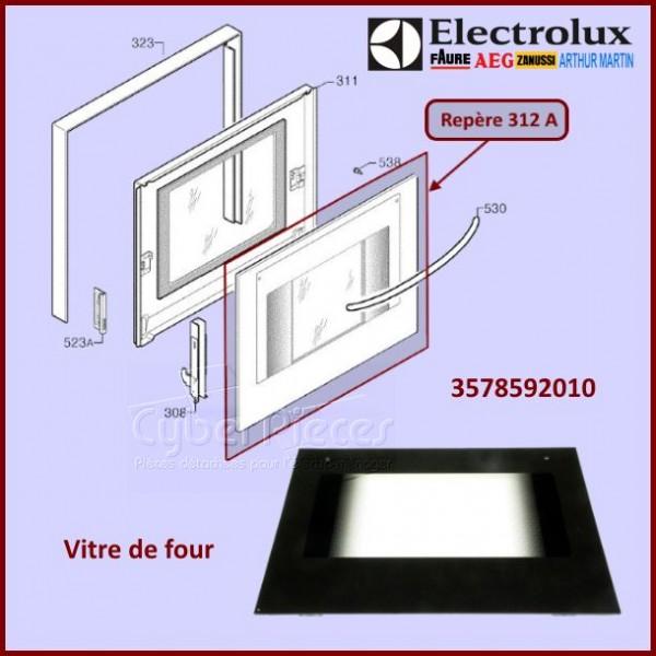 Vitre de  four Electrolux 3578592010