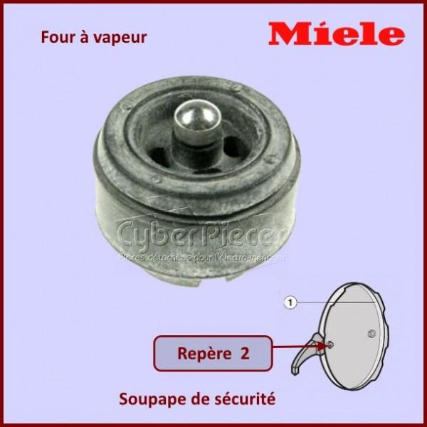 Soupape de sécurité de four à vapeur Miele 8245600
