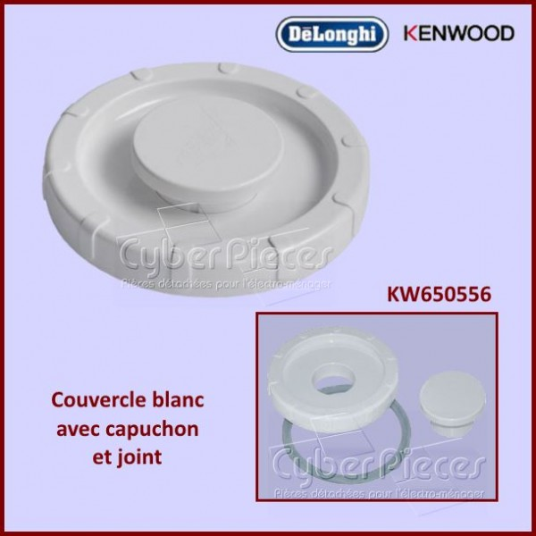 Couvercle Complet Blanc A993-A994 Kenwood KW650556