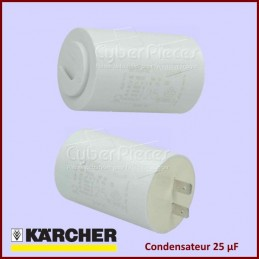 Condensateur 25µF (25mF) Karcher 90850130 CYB-076012