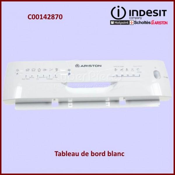 Tableau de bord blanc Indesit C00142870