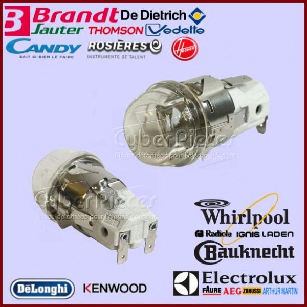 Ensemble Eclairage avec ampoule 15W pour four multi-marques