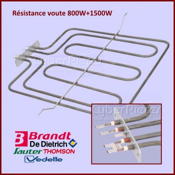 Résistance voute  800W+1500W Brandt CA50033A1