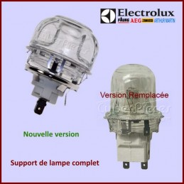 Support de lampe complet Electrolux 3879376436 CYB-157629