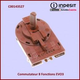 Commutateur 8 Fonctions EVO3 Indesit C00143527 CYB-327213