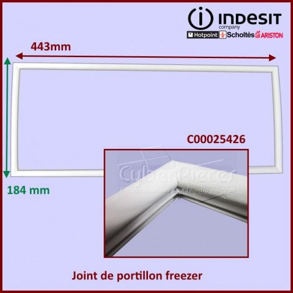 Joint de portillon freezer Indesit C00025426