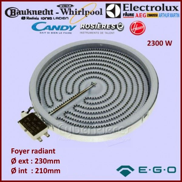 Foyer Radiant 2300w Ego 1051111004