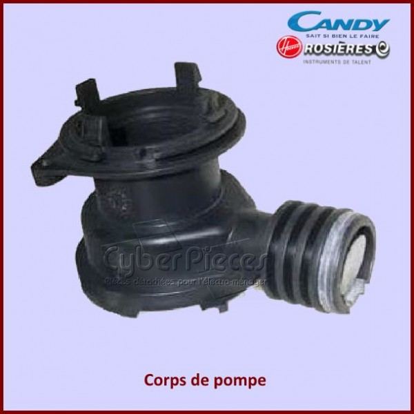 Corps de pompe de vidange Candy 91600290