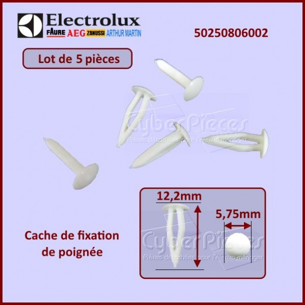 Cache des fixations de poignée Electrolux 50250806002