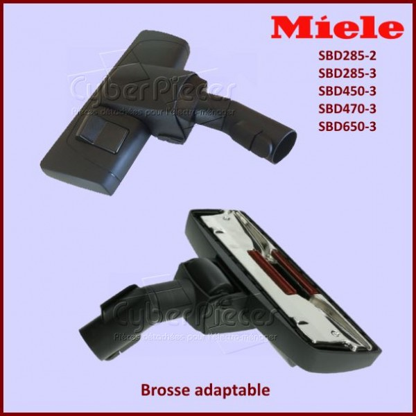 Brosse double usage SBD285 Adaptable Miele 7253830