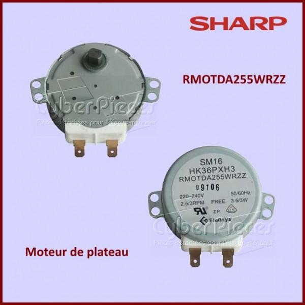 Moteur de plateau micro-onde SHARP Référence RMOTDA255WRZZ