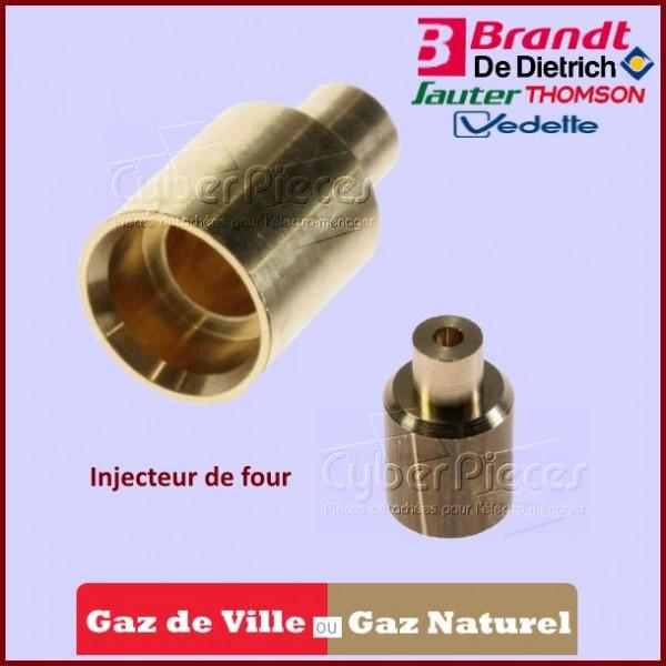 Injecteur Four gaz naturel Brandt C730146N1