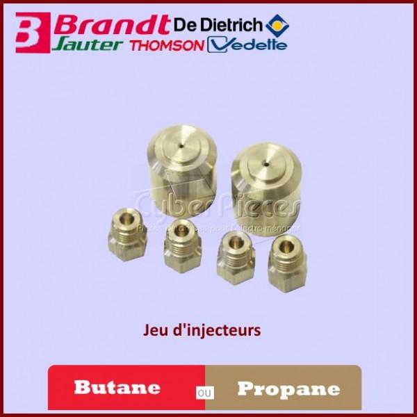 Kit Injecteurs Gaz Butane/Propane Brandt 74X1348