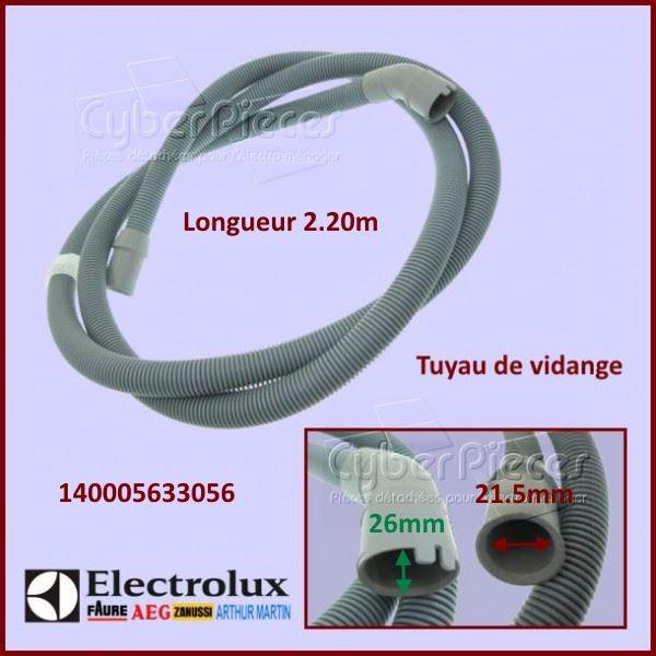 Tuyau de vidange 2.24m Electrolux 140005633056