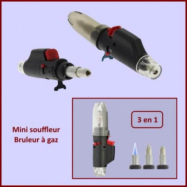 Mini souffleur - bruleur à gaz 3 en 1