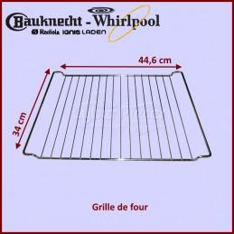 Grille de four 446X340mm Whirlpool 481245819334 CYB-195126
