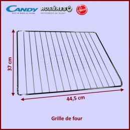 Grille de four 445x370mm Candy 42803836 CYB-173292