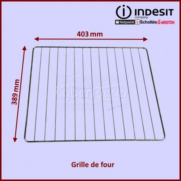Grille de four 389X403mm Indesit C00078398